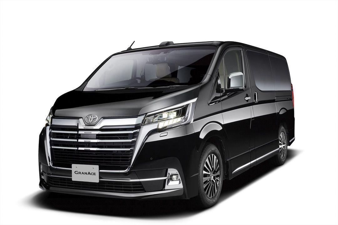 トヨタ新型車「グランエース」を日本国内で発売 海外向け