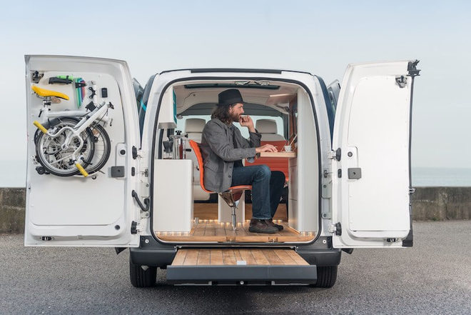 426156918 the future of working nissan e nv200 workspace is the world s first all