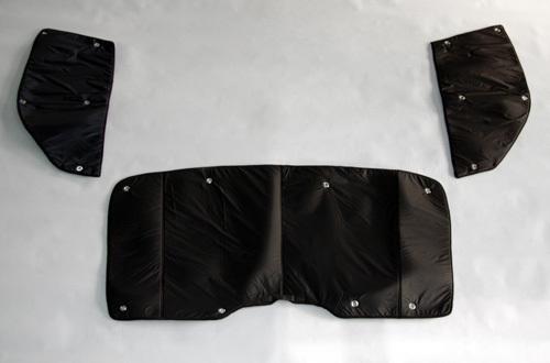 UI VEHICLE / ハイエース200系 遮光パッド フロント3面