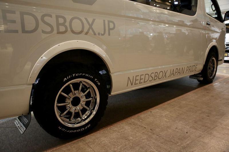 「NEEDSBOX CT-9」 キャンピングトランスポーター