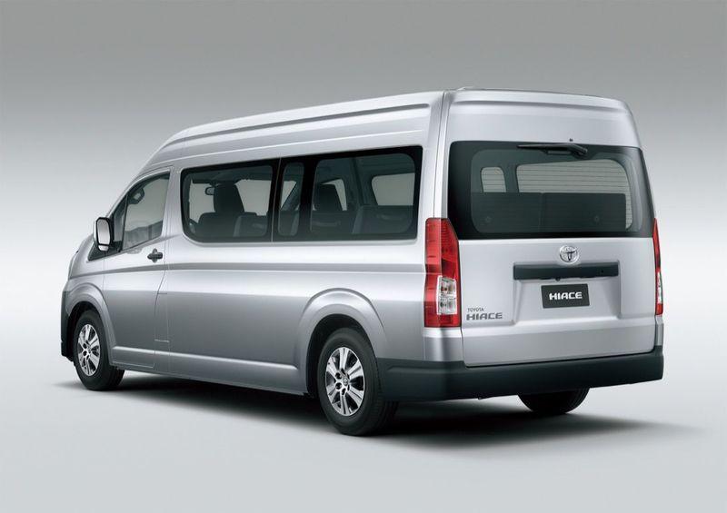 トヨタハイエース海外向け新シリーズ発表