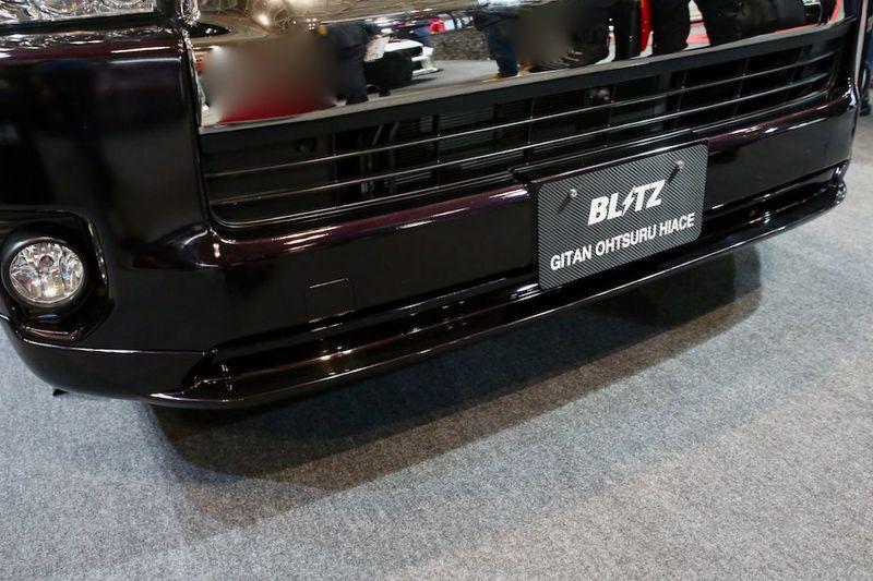 BLITZ AEROSPEED R-Concept BLITZ×義丹MOTORS HIACE オートサロン2019