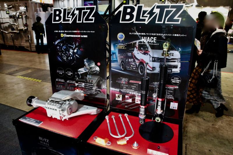 BLITZ×義丹MOTORS HIACE オートサロン2019