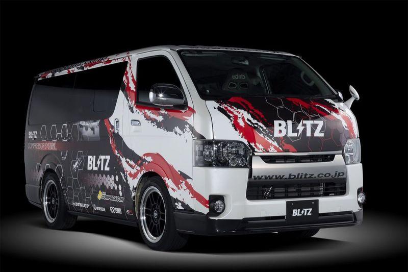 BLITZ for STG ハイエース用エアロパーツ