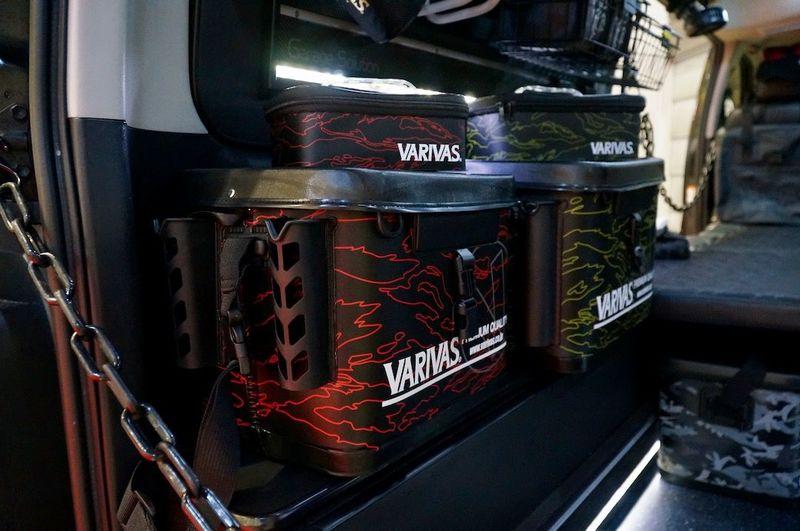 VARIVAS(モーリス)の新作フィッシングギア VARIVASテスター監修のフィッシングハイエース