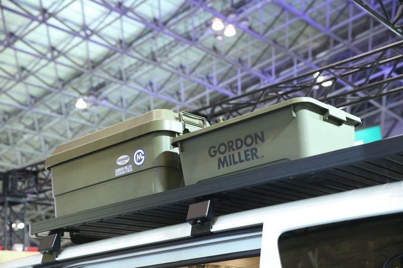 ルーフラック GORDON MILLER(ゴードンミラー)GMLVAN V-01E オートサロン2020
