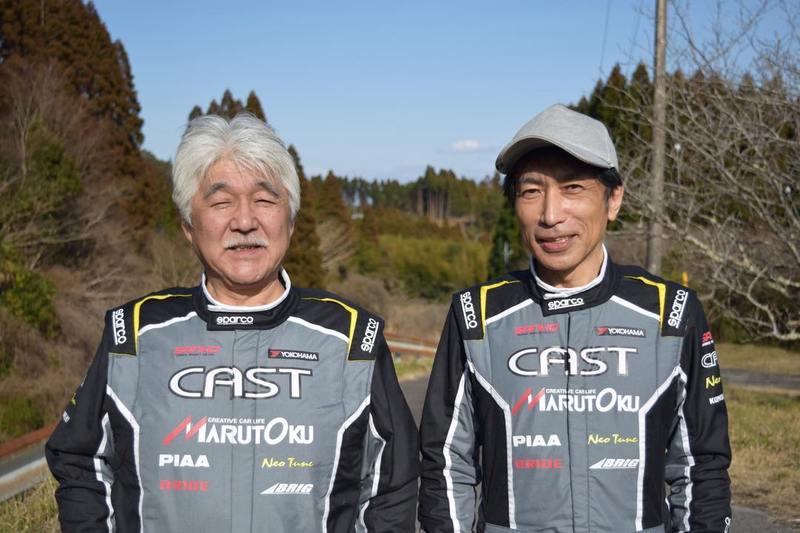 CAST RACING SANKO ドライバーの喜多見孝弘、コ・ドライバーの木原雅彦