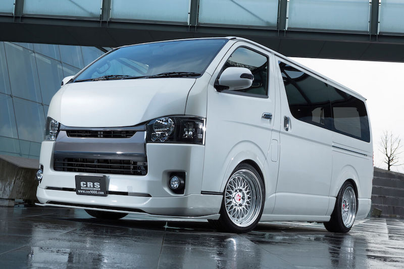 HIACE S-GL COMPLETE 「CRS PACKAGE」VAN カスタマイズ