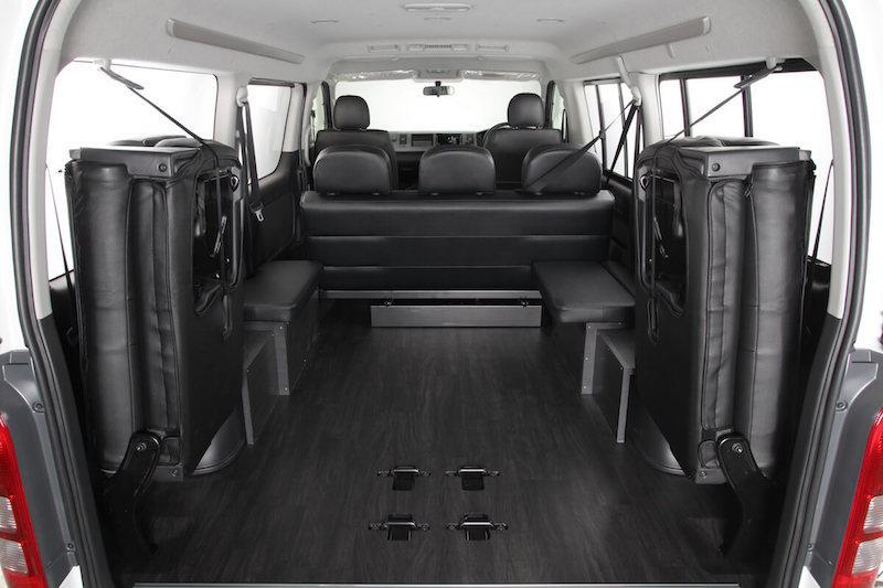 HIACE WAGON GL COMPLETE 「Bed Kit 5」WAGON 3ナンバー 10人乗