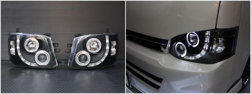 エンジェルリングヘッドライト LED RING