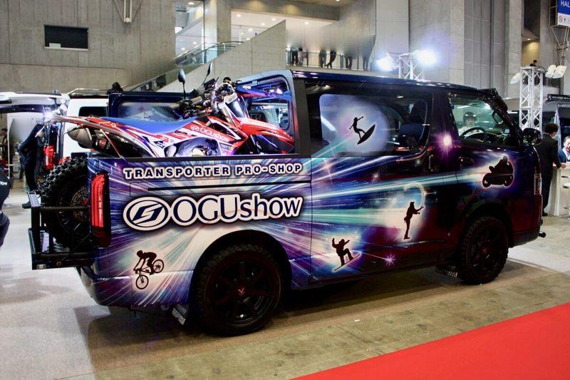 200系ハイエースWピックアップ OGUshow