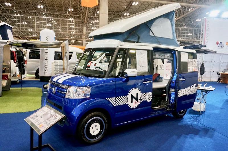 ジャパンキャンピングカーショー2017 軽キャンパー ホンダ NBOX