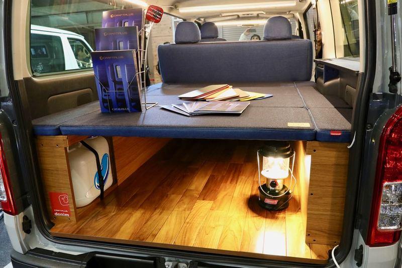 ベッドキットで楽しい車中泊仕様にも クラフトプラス