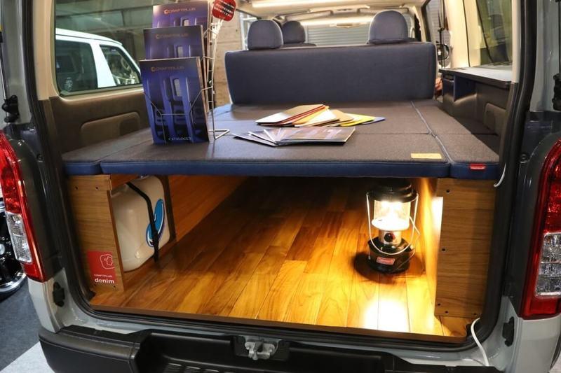 CRAFTPLUS車中泊用ベッドキット