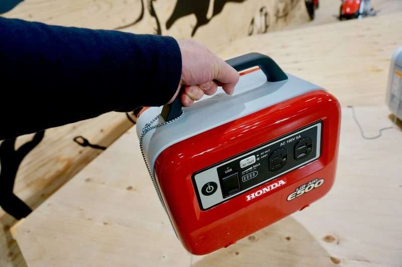 ホンダ ハンディータイプ蓄電機「LiB-AID E500」