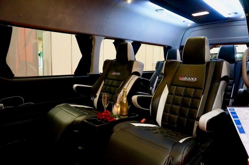LEGANCE ハイエース トヨタ車体特別架装車 ファインテックツアラー