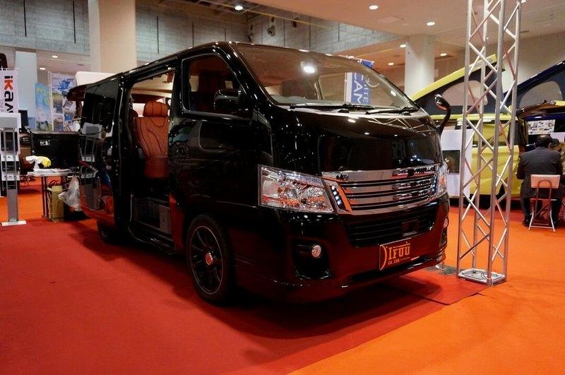 IFUU NV350キャラバン 正規4ナンバーから5ナンバー乗用車登録