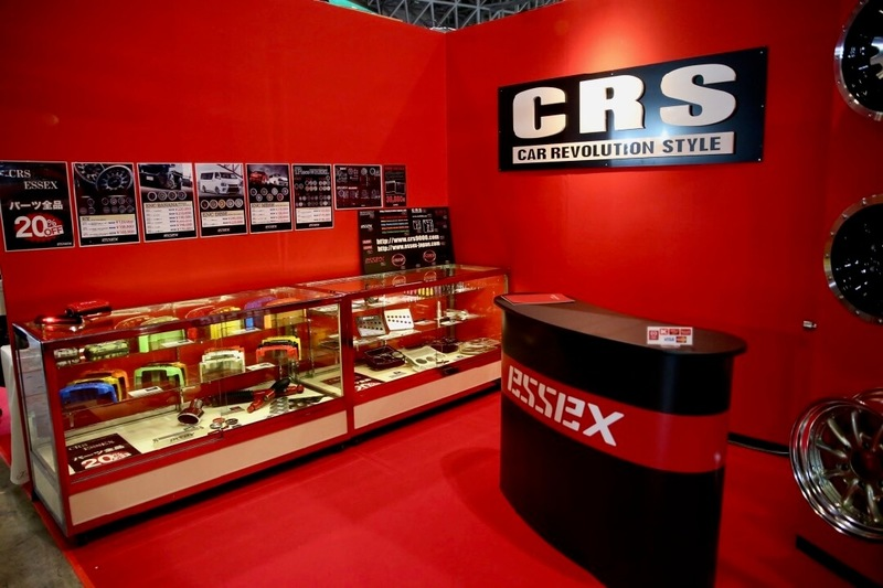 CRS/ESSEXのブース オートサロン2018
