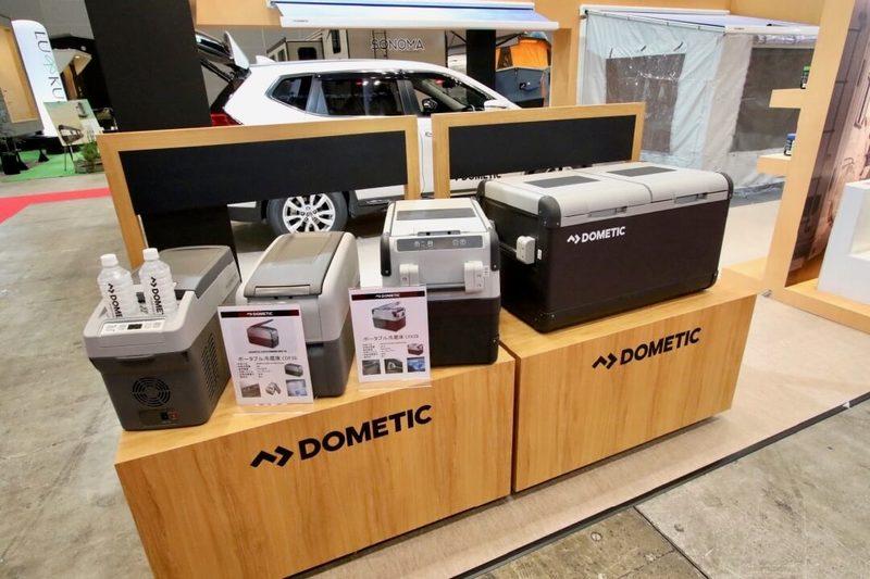 DOMETICの冷蔵庫 ジャパンキャンピングカーショー2018