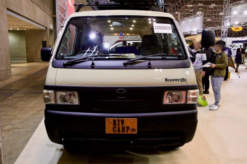 RIW-BRAWNY(リュウブローニィ) マツダボンゴブローニィ ジャパンキャンピングカーショー2018