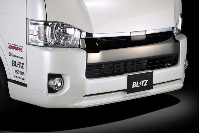 BLITZ / エアロスピード R コンセプトFront Lip Spoiler for HIACE WIDE