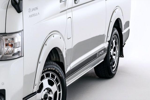 JAOS / フェンダーガーニッシュ type-X 未塗装品 ハイエース 200系