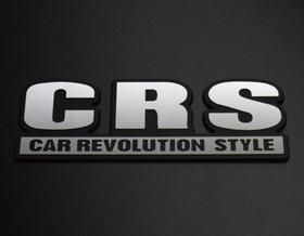CRSエンブレム 127×45mm