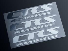 CRS メタルステッカー 50×12mm 3枚セット