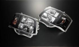 【3型HID車専用】DEPO製クリスタルヘッドライトハウジング インナーブラック