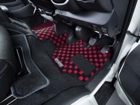 ハイエース200系バン S-GL・DX用フロアマット フロントセカンドセット