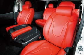 グラファム シートカバー S-GL 5人乗り用 フロント用(前)2脚 ハイエース200系共通