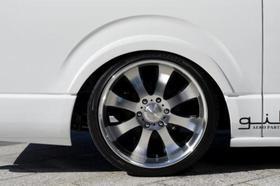 ブラインドフェンダー ver.2 (F&R) ハイエース200系スーパーロング共通
