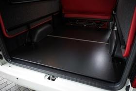 グラファム フロアパネル S-GL (2分割・硬質タイプ・ブラック) ハイエース200系ノーマルボディ