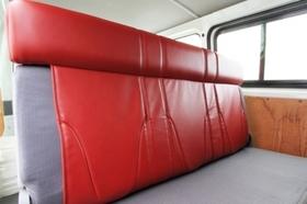 グラファム シートカバー バンDX用 リアシートハイバック ハイエース200系バンDX
