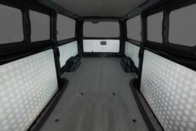 グラファム 縞鋼板調サイドウォールパネル 5枚セット ハイエース200系バンDX