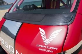 ワイパーガーニッシュ(カーボン製) 1・2・3・4型・ハイエース200系ワイドボディ