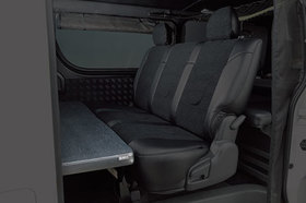 グラファム・クラシック マルチベットキット(セカンドシート用・オットマン機能付) ハイエース200系ノーマルボディ