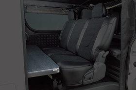グラファム・クラシック マルチベットキット(セカンドシート用・オットマン機能付) ハイエース200系スーパーロングハイルーフ