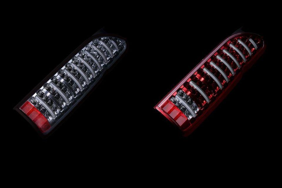 ジュエルLEDテールランプTRADハイエースシーケンシャルウインカーモデル