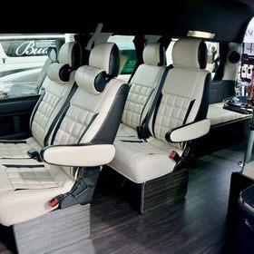 LEGANCEカスタムハイエース  ハイエース200系WIDE  内装 シートカバー、アレンジシステムシート セカンドキャンピングテーブル 車中泊ベッドキット J-CLUB  スーパーカーニバル2016出展車両