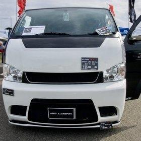 415 COBRAハイエースカスタム  ハイエース200系ナロー  SPORTY LINEボンネット  スーパーカーニバル2016