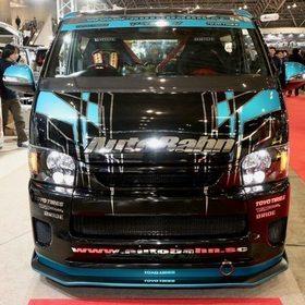 HIACE AutobahnGT (アウトバーンGT)  レース仕様 東京オートサロン2017の出展車両