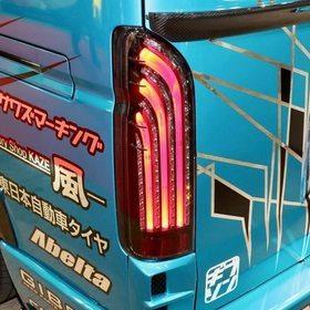HIACE AutobahnGT (アウトバーンGT)  レース仕様  コプラスLEDテール 東京オートサロン2017の出展車両