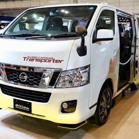 オグショー TRANSPORTER ベース車両はNISSAN | NV350キャラバンプレミアムGX 日産とオグショーのコラボレーション車両 オートサロン2017出展車両