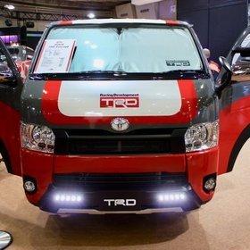 TRD(トヨタ・レーシング・ディベロップメント)ハイエース  オートサロン2017出展車両