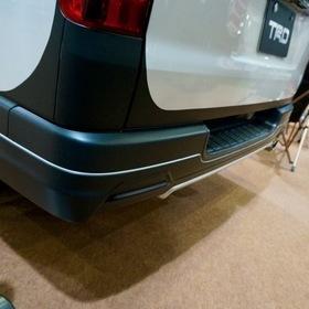 TRD(トヨタ・レーシング・ディベロップメント)ハイエース  TRDコンセプト TRDリアバンパー オートサロン2017出展車両