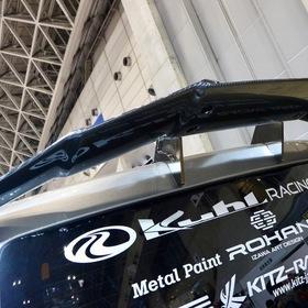 KUHL(クール)&KITZ(キッツ)のカスタムハイエースHIACE BADLOOK  スワンネックGTウイング  東京オートサロン2017出展車両