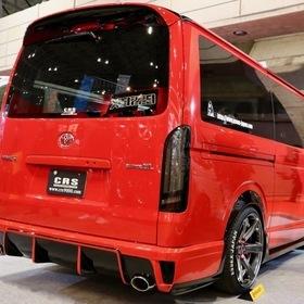 ESSEX/CRS レッドカスタム号  ベース車:ハイエース200系 TRH200V  東京オートサロン2017出展車両