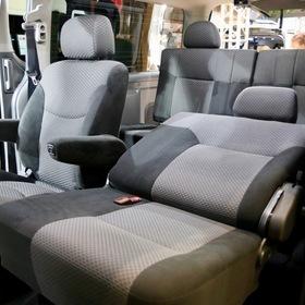 Stealth(ステルス)キャラバン  車両名:ステルス キャラバン  ベース車両:NISSAN   NV350 キャラバン  東京オートサロン2017出展車両