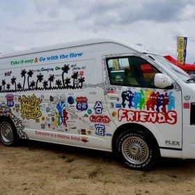 FLEXハイエースキャンピングカー 憲武・フミヤ・ヒロミが行く!キャンピングカー合宿2